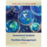 Investment Analysis and Portfolio Management (with Thomson ONE - Business School Edition),9780324656121