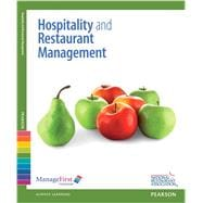 ManageFirst Hospitality and Restaurant Management with Answer Sheet,9780132116138