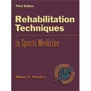 Rehabilitation Techniques in Sports Medicine with PowerWeb : Health and Human Performance,9780072506150