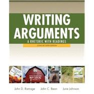 Writing Arguments A Rhetoric with Readings, Concise Edition, with NEW MyCompLab with eText -- Access Card Package,9780321846150