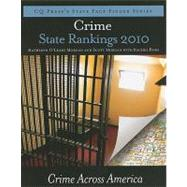 Crime State Rankings 2010: Crime Across America, 9781604266184  