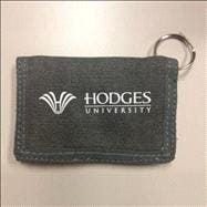 Hodges Canvas ID Wallet - Smoke