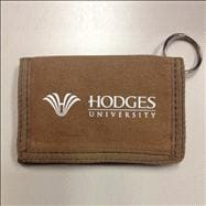 Hodges Canvas ID Wallet - Brown