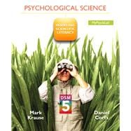 Psychological Science Modeling Scientific Literacy with DSM-5 Update