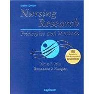Nursing Research; Principles and Methods, With Online Articles,9780781746250