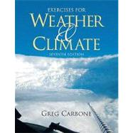 Exercises for Weather and Climate,9780321596253