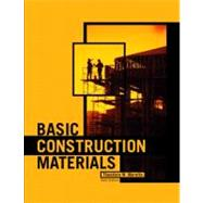 Basic Construction Materials,9780130896254