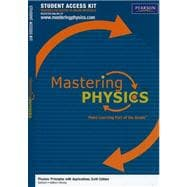 MasteringPhysics Student Access Kit for Physics Principles with Applications