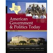 Central Texas College American Government, 2011-2012 Edition,9781111836269