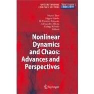 Nonlinear Dynamics and Chaos: Advances and Perspectives : Ad..., 9783642046285  