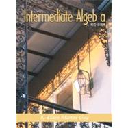 Intermediate Algebra,9780130166319