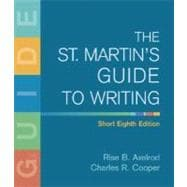 The St. Martin's Guide to Writing Short Edition,9780312446338
