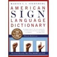 American Sign Language Dictionary,9780062736345