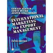 International Marketing And Export Management,9780273686347