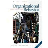 Organizational Behavior: Foundations, Realities, and Challenges