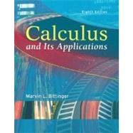Calculus and Its Applications,9780321166395