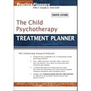 The Child Psychotherapy Treatment Planner, 4th Edition, 9781118046401