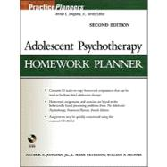 Adolescent Psychotherapy Homework Planner, 2nd Edition, 9781118046418  