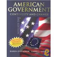 American Government : Continuity and Change, 2002 Election Update (paperback), with LP.com Version 2.0