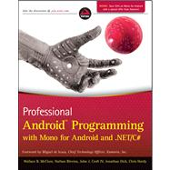 Professional Android Programming with Mono for Android and ...., 9781118026434  