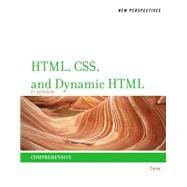New Perspectives on HTML, CSS, and Dynamic HTML,9781111526436