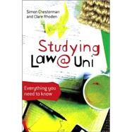 Studying Law at University : Everything You Need to Know