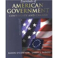 Essentials of American Government : Continuity and Change, 2002 Election Update, with LP.com Version 2.0