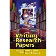Writing Research Papers: A Complete Guide (perfect-bound)