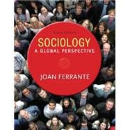 Sociology A Global Perspective,9781285746463