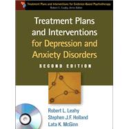 Treatment Plans and Interventions for Depression and Anxiety Disorders, 2e,9781609186494