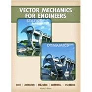 Loose Leaf Version for Vector Mechanics for Engineers: Statics and Dynamics,9780077366506