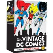 The Art of Vintage DC Comics: 100 Postcards, 9780811876506  