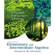 Elementary and Intermediate Algebra : Graphs and Models Value Pack (includes Elementary and Intermediate Algebra: Graphs and Models Worksheets for Classroom or Lab Practice and MyMathLab/MyStatLab Student Access Kit )