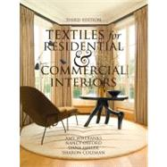 Textiles for Residential and Commercial Interiors 3rd Edition,9781563676512