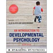 An Introduction to Developmental Psychology, 2nd Edition,9781405186520