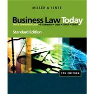 Business Law Today, Standard Edition,9780324786521