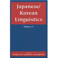 Japanese/Korean Linguistics,9781575866543