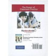 MyEducationLab with Pearson eText -- Standalone Access Card -- for Educational Psychology,9780132476546