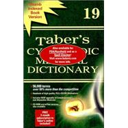 Taber's Cyclopedic Medical Dictionary : Indexed,9780803606548