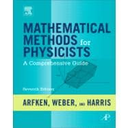 Mathematical Methods for Physicists : A Comprehensive Guide,9780123846549