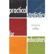 Practical Statistics for Educators,9781442206557