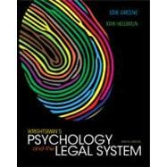 Wrightsman's Psychology and the Legal System,9781133956563