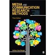 Media and Communication Research Methods: An Introduction to Qualitative and Quantitative Approaches,9781452256573
