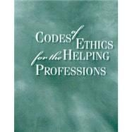 Codes Of Ethics For The Helping Professions,9780495906575