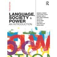 Language, Society and Power : An Introduction, 9780415576581  