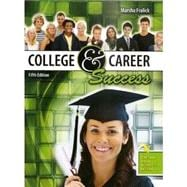 College and Career Success,9780757586583