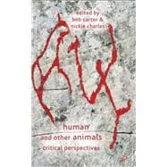 Human and Other Animals : Critical Perspectives, 9780230246591