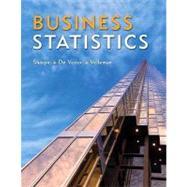 Business Statistics,9780321426598