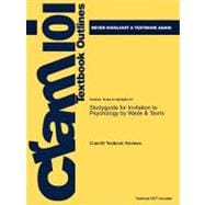 Studyguide for Invitation to Psychology by Wade and Tavris, Isbn 9780131750630,9781428856608