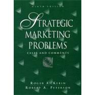 Strategic Marketing Problems : Cases and Comments,9780130276612